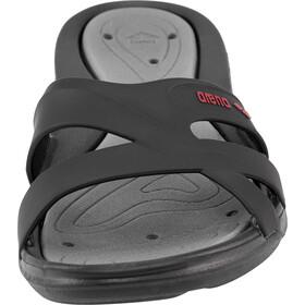 arena Athena Hook Sandals Dame black-deep grey-fuchsia